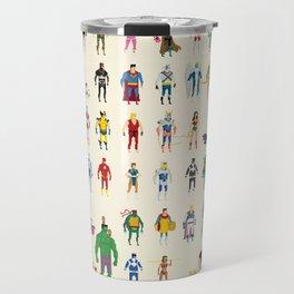Pixel Nostalgia Travel Mug