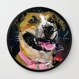 Rosie the Pittie Wall Clock