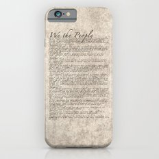US Constitution - United States Bill of Rights Slim Case iPhone 6s