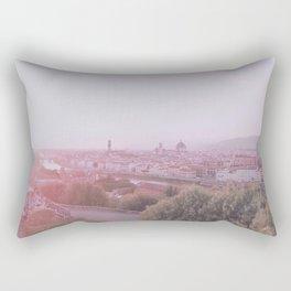 Florence cityscape Rectangular Pillow