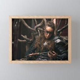 Lexa 02 Framed Mini Art Print