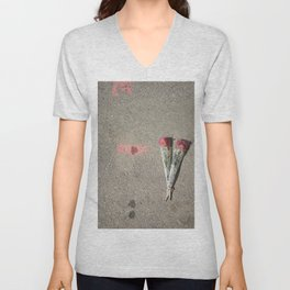 Say it with flowers Unisex V-Neck