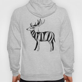 Lost in Its Own Existence (Deer) Hoody