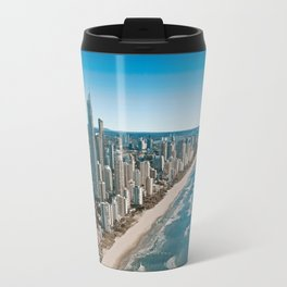Beach city paradise Travel Mug