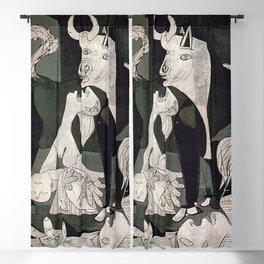 GUERNICA #1 - PABLO PICASSO Blackout Curtain