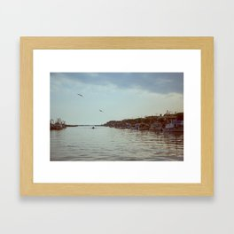 A peaceful lagoon #3 Framed Art Print