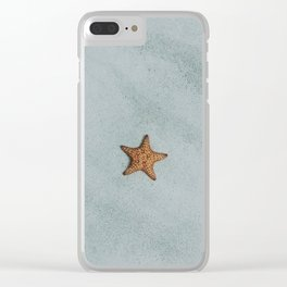 little starfish Clear iPhone Case