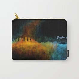 Sydney City Skyline Hq v4 Carry-All Pouch