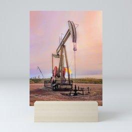 Oil Rig Mini Art Print