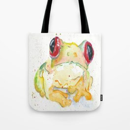 Springy Froggy Tote Bag