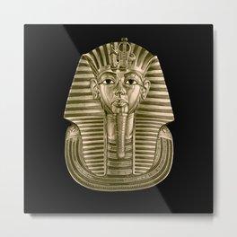Golden King Tut Metal Print