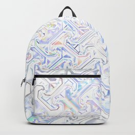 Blueish Pattern Backpack