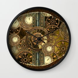 Steampunk, awesome clocks Wall Clock