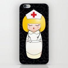 Kokeshi Blonde nurse iPhone & iPod Skin