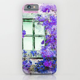 Flower window iPhone Case