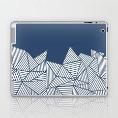 Abstract Mountain Navy Laptop & iPad Skin