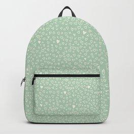 Green love. Backpack