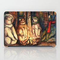 helen iPad Cases featuring Camp Meeting By Helen Green by Bear Picnic
