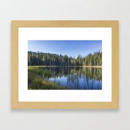 Siesta Lake Framed Art Print