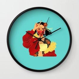Hannya Wall Clock