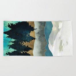 Forest Mist Beach Towel