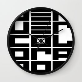 Denver CO Wall Clock