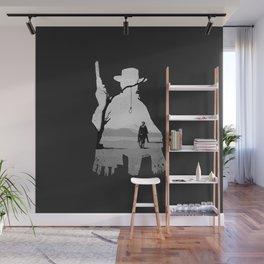 A Fistful of Dollars Fan Art Illustration by Burro Wall Mural
