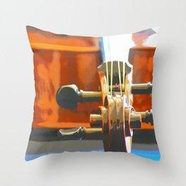 Cello Mood Throw Pillow
