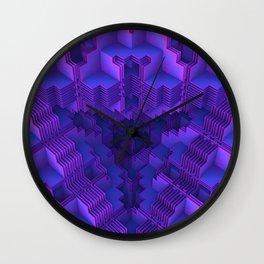 Peeling Back the Layers Wall Clock