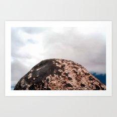 Zen of Giant Rock Art Print