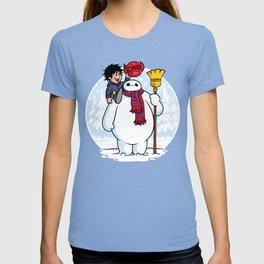 Inflatable Snowman T-shirt