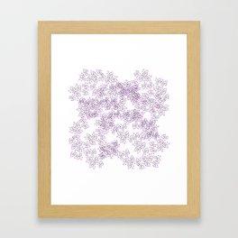 Flower illusion no. 1 Framed Art Print