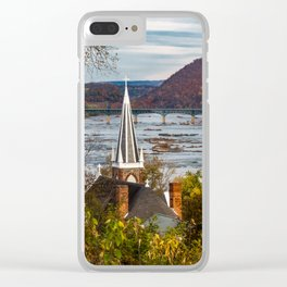 Harpers Ferry, West Virginia Clear iPhone Case