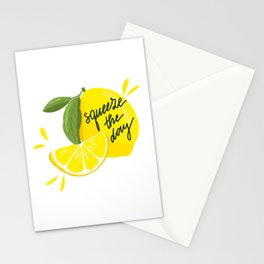 Squeeze - The - Day Stationery Cards