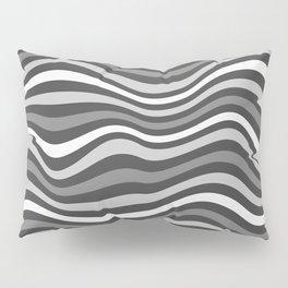 GrayWaving Pillow Sham