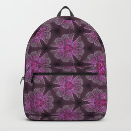 Glowy Butterflies–Pink & Magenta Palette Backpack