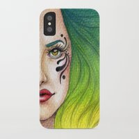 fierce iPhone & iPod Cases featuring Fierce  by StaceyPatinoArt