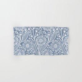 Denim Coneflowers Hand & Bath Towel