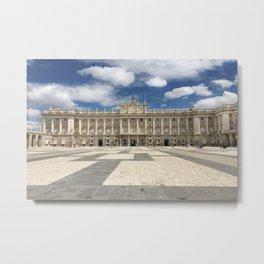 Madrid, Spain - Royal Palace Metal Print