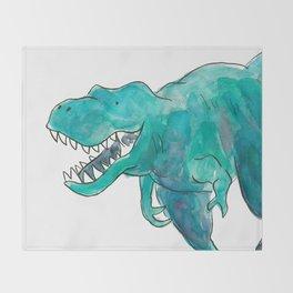 T-Rex Dinosaur Throw Blanket