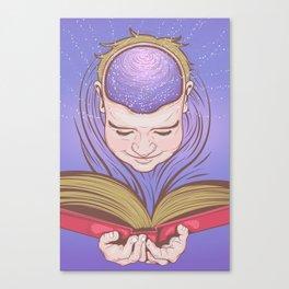 Reading Nirvana Canvas Print