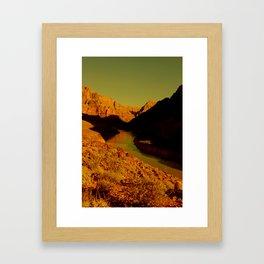 CowBoyLand Framed Art Print