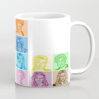 glee Mugs featuring Glee by ONEX8