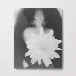 Too much flowery language, not much sincerity Metal Print