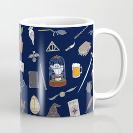 Harry Pattern Night Coffee Mug