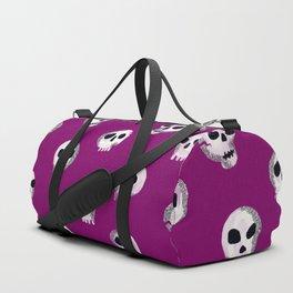 Spooky Skulls – Purple Duffle Bag