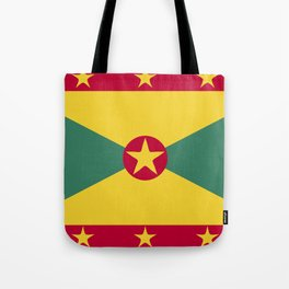 Greenada flag emblem Tote Bag