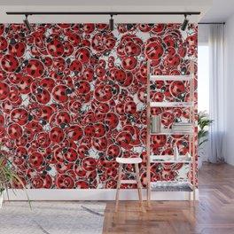 Ladybug Love Wall Mural
