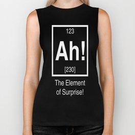 Ah! The element of surprise! Biker Tank