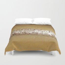 Golden Foil Duvet Cover